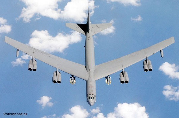 Боинг B-52 - американский стратегический бомбардировщик (9)