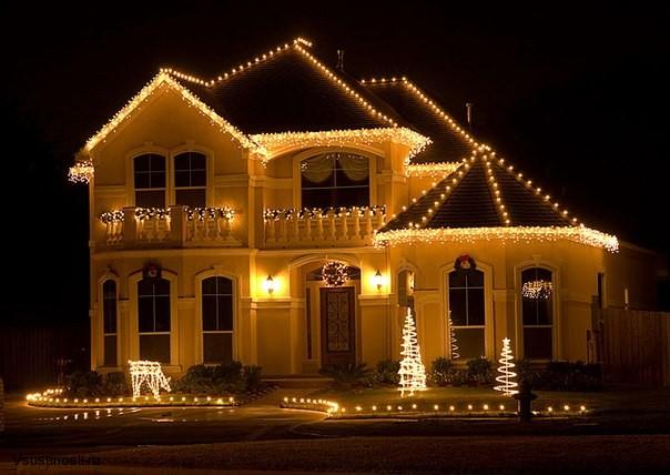 Украшаем дом на новый год (1)