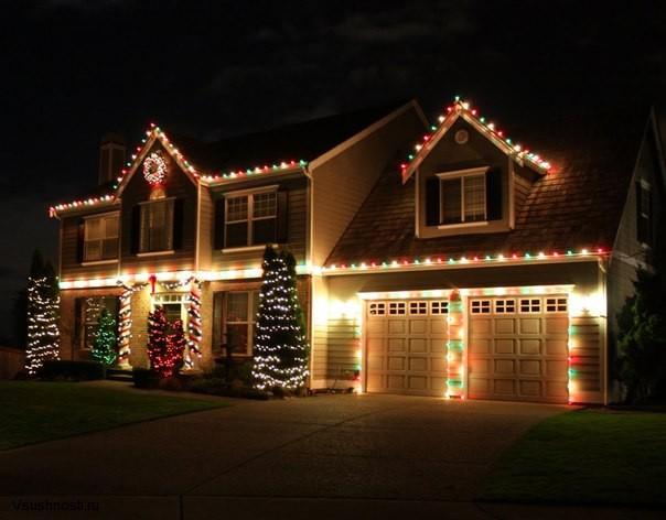 Украшаем дом на новый год (5)
