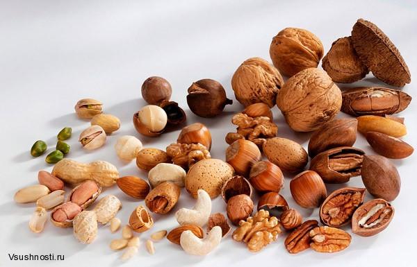 Орехи для повышения потенции у мужчин